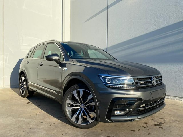 New Volkswagen Tiguan 5NA MY20 162 TSI Highline Liverpool, 2019 Volkswagen Tiguan AD14WT/20 162 TSI Highline Indium Grey 7 Speed Auto Direct Shift Wagon