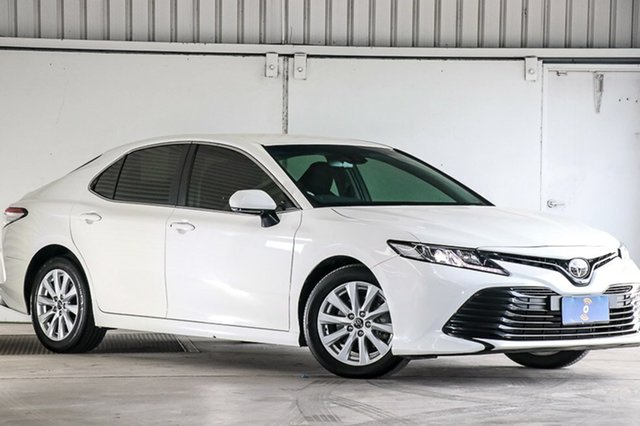Used Toyota Camry ASV70R Ascent, 2018 Toyota Camry ASV70R Ascent White 6 Speed Sports Automatic Sedan