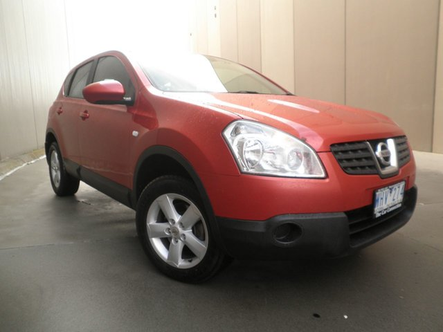 Used Nissan Dualis J10 ST AWD, 2008 Nissan Dualis J10 ST AWD Burnt Orange 6 Speed Manual Hatchback