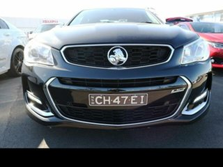 2016 Holden Commodore VF II SS-V Black 6 Speed Automatic Sedan