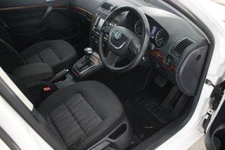 2010 Skoda Octavia 1Z MY11 103TDI DSG White 6 Speed Sports Automatic Dual Clutch Liftback
