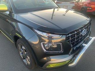 2020 Hyundai Venue QX MY20 Elite Cosmic Grey 6 Speed Automatic Wagon.