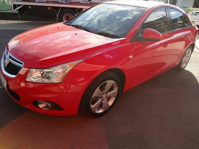 Used Holden Cruze JH MY14 Equipe Coopers Plains, 2014 Holden Cruze JH MY14 Equipe Red 5 Speed Manual Sedan