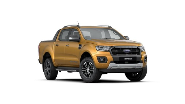 New Ford Ranger PX MkIII 2020.25MY Wildtrak Pick-up Double Cab, 2019 Ford Ranger PX MkIII 2020.25MY Wildtrak Pick-up Double Cab Saber 10 Speed Sports Automatic