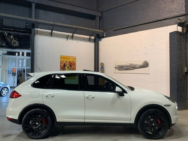 Used Porsche Cayenne 92A MY12 Turbo Tiptronic, 2011 Porsche Cayenne 92A MY12 Turbo Tiptronic White 8 Speed Sports Automatic Wagon