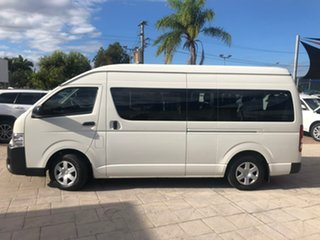 2016 Toyota HiAce KDH223R Commuter High Roof Super LWB White 4 Speed Automatic Bus