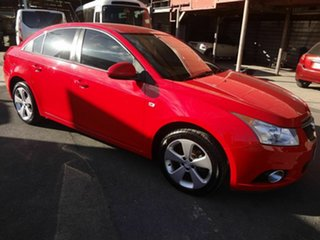2014 Holden Cruze JH MY14 Equipe Red 5 Speed Manual Sedan