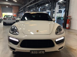 2011 Porsche Cayenne 92A MY12 Turbo Tiptronic White 8 Speed Sports Automatic Wagon