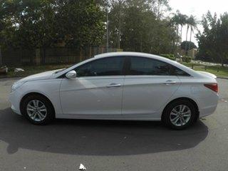 2012 Hyundai i45 White 5 Speed Automatic Sedan