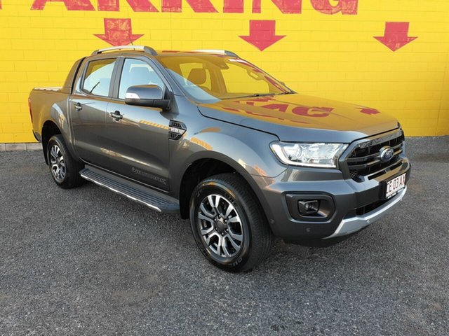 Used Ford Ranger PX MkIII 2019.00MY Wildtrak Pick-up Double Cab, 2018 Ford Ranger PX MkIII 2019.00MY Wildtrak Pick-up Double Cab Grey 6 Speed Sports Automatic