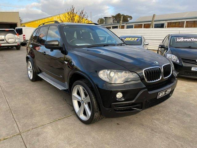 Used BMW X5 E70 MY09 xDrive48i Steptronic, 2008 BMW X5 E70 MY09 xDrive48i Steptronic Black 6 Speed Sports Automatic Wagon