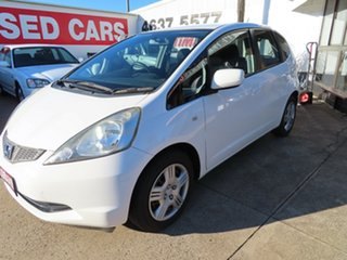 2010 Honda Jazz GLi White 5 Speed Manual Hatchback