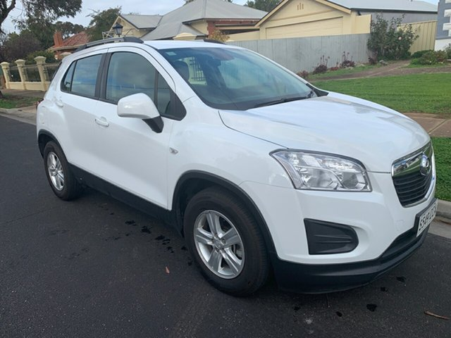 Used Holden Trax TJ MY15 LS, 2015 Holden Trax TJ MY15 LS White 6 Speed Automatic Wagon