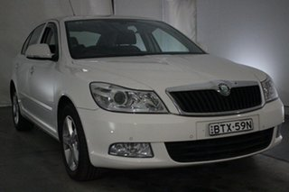 2010 Skoda Octavia 1Z MY11 103TDI DSG White 6 Speed Sports Automatic Dual Clutch Liftback