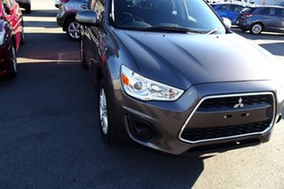 2013 Mitsubishi ASX XB MY13 2WD Brown 6 Speed Constant Variable Wagon.