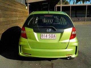 2012 Honda Jazz GE MY12 VTi Green 5 Speed Manual Hatchback