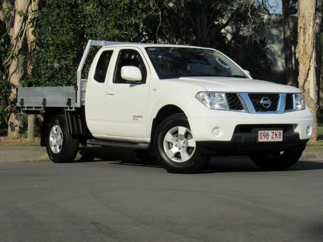 Used Nissan Navara D40 S8 ST-X King Cab, 2013 Nissan Navara D40 S8 ST-X King Cab White 6 Speed Manual Utility