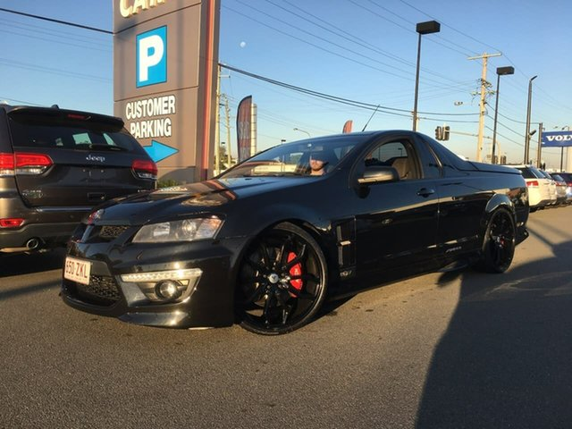 Used Holden Special Vehicles Maloo E Series 3 R8 SV Black Edition, 2011 Holden Special Vehicles Maloo E Series 3 R8 SV Black Edition Black 6 Speed Manual Utility