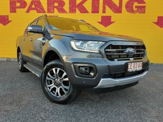 2018 Ford Ranger PX MkIII 2019.00MY Wildtrak Pick-up Double Cab Grey 6 Speed Sports Automatic.