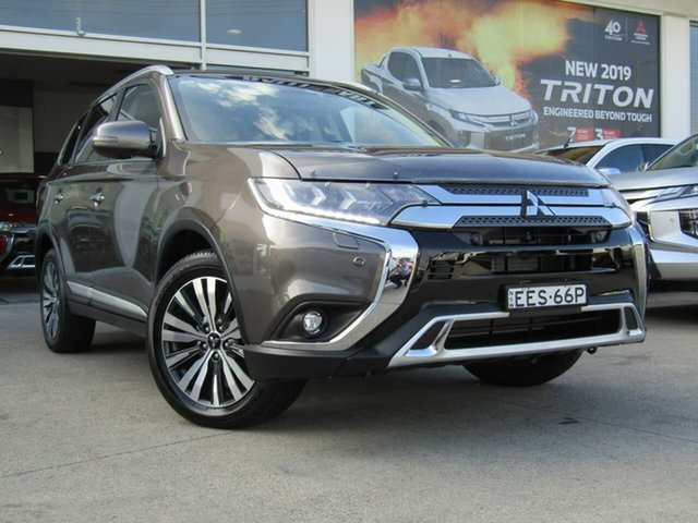 Demo Mitsubishi Outlander ZL MY19 Exceed AWD, 2019 Mitsubishi Outlander ZL MY19 Exceed AWD Bronze 6 Speed Constant Variable Wagon