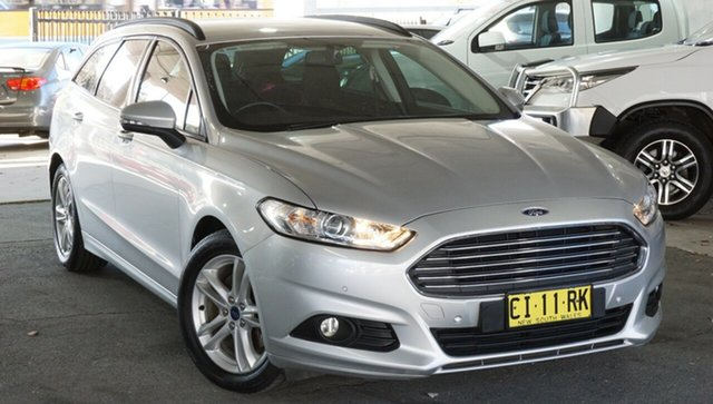 Used Ford Mondeo MD Ambiente PwrShift, 2016 Ford Mondeo MD Ambiente PwrShift Silver 6 Speed Sports Automatic Dual Clutch Hatchback