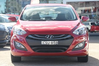 2014 Hyundai i30 GD MY14 Trophy Red 6 Speed Manual Hatchback