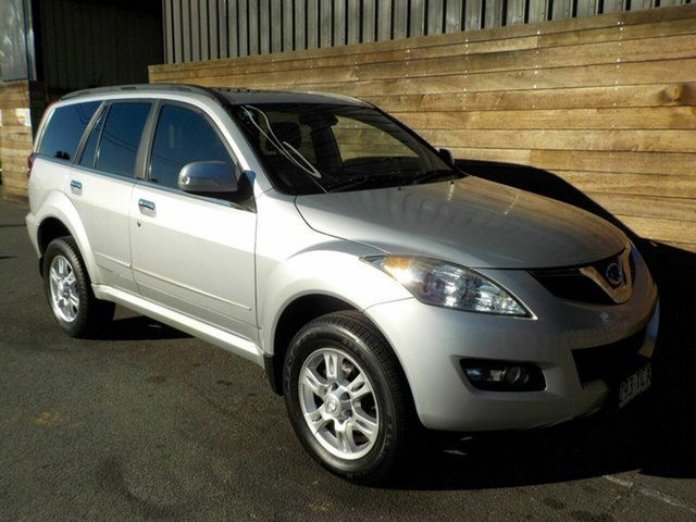 Used Great Wall X200 K2 MY13 , 2013 Great Wall X200 K2 MY13 Silver 5 Speed Automatic Wagon