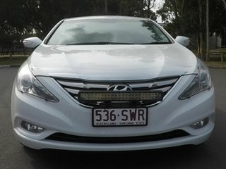 2012 Hyundai i45 White 5 Speed Automatic Sedan.