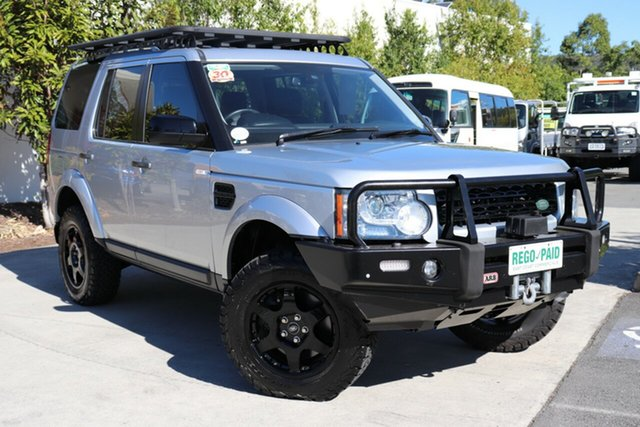 Used Land Rover Discovery 4 Series 4 L319 MY13 TDV6, Land Rover Discovery 4 Series 4 L319 MY13 TDV6 Siberian Silver 8 speed Automatic Wagon