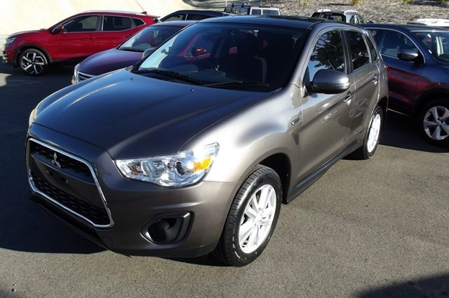 Used Mitsubishi ASX XB MY13 2WD, 2013 Mitsubishi ASX XB MY13 2WD Brown 6 Speed Constant Variable Wagon