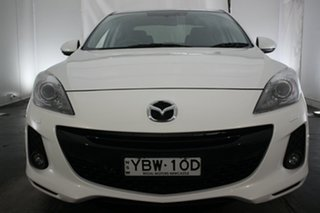 2013 Mazda 3 BL10L2 MY13 SP25 Activematic White 5 Speed Sports Automatic Sedan.