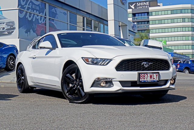 Used Ford Mustang FM Fastback SelectShift, 2016 Ford Mustang FM Fastback SelectShift White 6 Speed Sports Automatic Fastback
