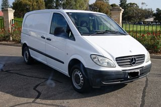 2007 Mercedes-Benz Vito 109CDI Extra Long White 6 Speed Manual Van.