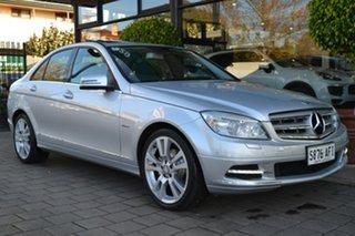 2010 Mercedes-Benz C-Class W204 MY10 C250 CGI Avantgarde 5 Speed Sports Automatic Sedan.