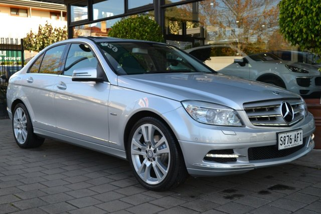Used Mercedes-Benz C-Class W204 MY10 C250 CGI Avantgarde, 2010 Mercedes-Benz C-Class W204 MY10 C250 CGI Avantgarde 5 Speed Sports Automatic Sedan