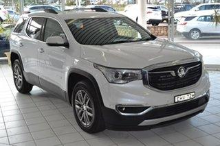 2019 Holden Acadia AC MY19 LTZ AWD White 9 Speed Sports Automatic Wagon.