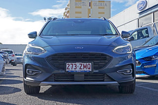 2019 Ford Focus SA 2019.25MY Active Blue 8 Speed Automatic Hatchback.