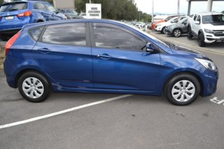 2015 Hyundai Accent RB3 MY16 Active Blue 6 Speed Constant Variable Sedan