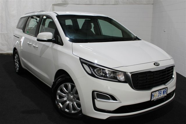 Used Kia Carnival YP MY18 S, 2018 Kia Carnival YP MY18 S White 6 Speed Sports Automatic Wagon