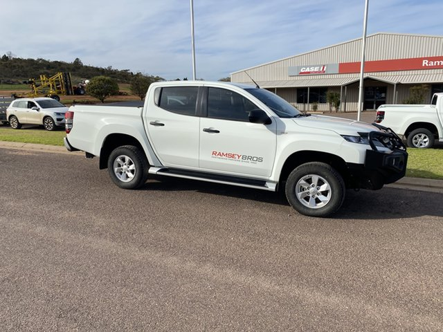 Used Mitsubishi Triton MR MY19 GLX Plus (4x4) Cleve, 2018 Mitsubishi Triton MR MY19 GLX Plus (4x4) 6 Speed Manual Double Cab Pick Up