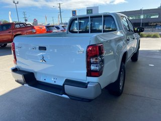 2019 Mitsubishi Triton MR MY19 GLX Double Cab White 6 Speed Sports Automatic Utility