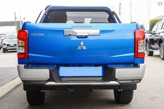2019 Mitsubishi Triton MR MY19 GLS Double Cab Blue 6 Speed Sports Automatic Utility.