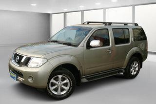 2011 Nissan Pathfinder R51 MY10 ST-L Gold Mica 5 Speed Sports Automatic Wagon.