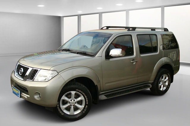 Used Nissan Pathfinder R51 MY10 ST-L, 2011 Nissan Pathfinder R51 MY10 ST-L Gold Mica 5 Speed Sports Automatic Wagon