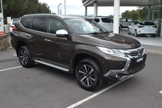 2017 Mitsubishi Pajero Sport QE MY17 Exceed Bronze 8 Speed Sports Automatic Wagon.