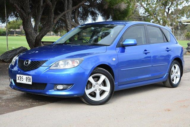 Used Mazda 3 BK10F1 Maxx Sport, 2004 Mazda 3 BK10F1 Maxx Sport Blue 4 Speed Sports Automatic Hatchback