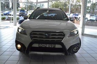 2016 Subaru Outback B6A MY16 2.5i CVT AWD Premium White 6 Speed Wagon.