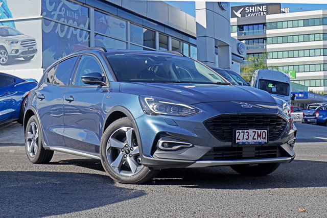 Used Ford Focus SA 2019.25MY Active, 2019 Ford Focus SA 2019.25MY Active Blue 8 Speed Automatic Hatchback