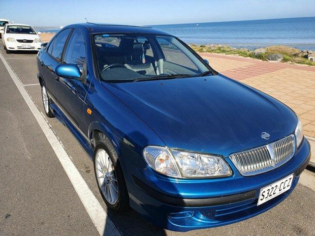 Used Nissan Pulsar N15 S2 LX Morphett Vale, 2000 Nissan Pulsar N15 S2 LX 4 Speed Automatic Sedan