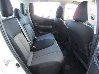 2019 Mitsubishi Triton MR MY19 GLX Double Cab White 6 Speed Sports Automatic Utility